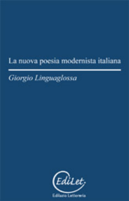 nuova poesia modernista italiana;La
