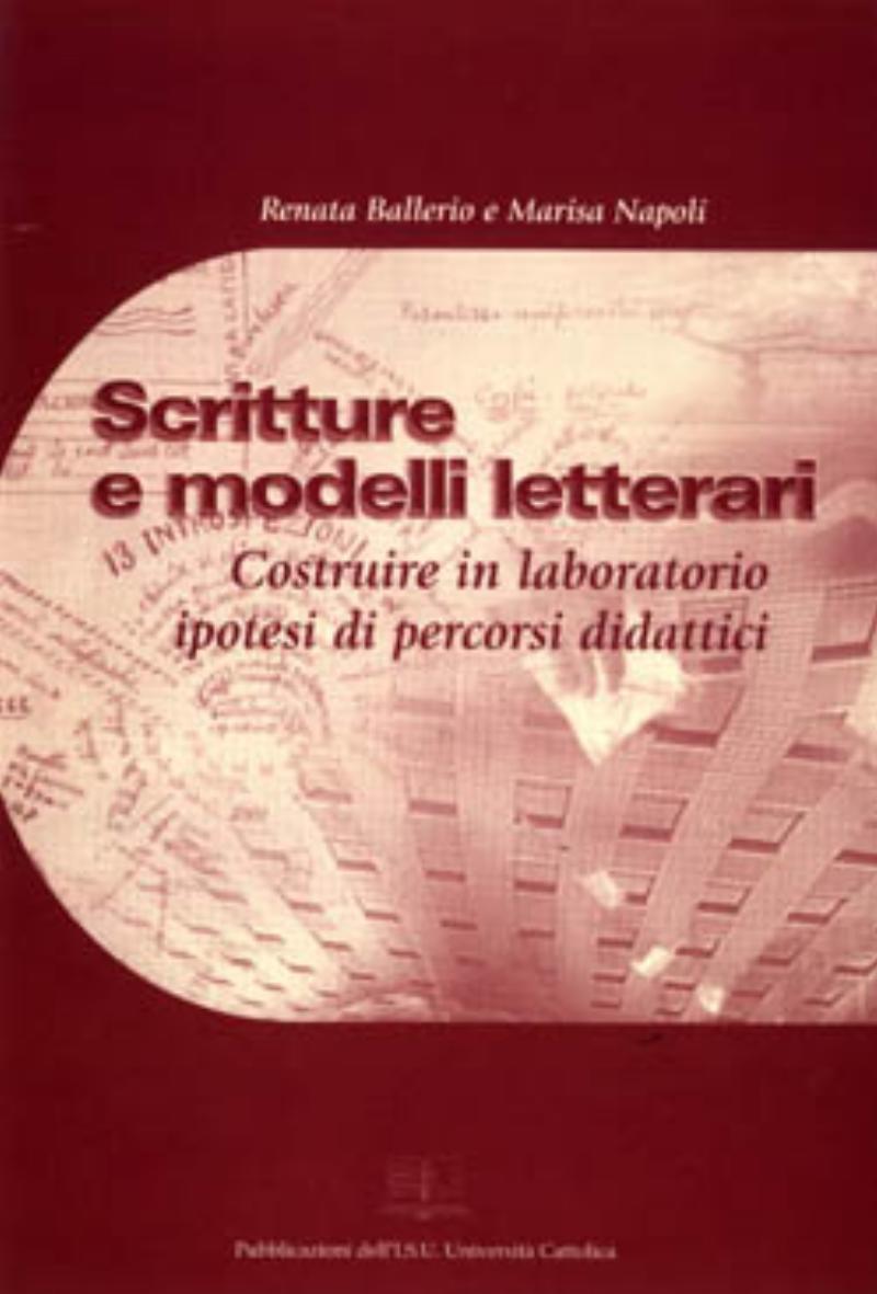 Scritture e modelli letterari