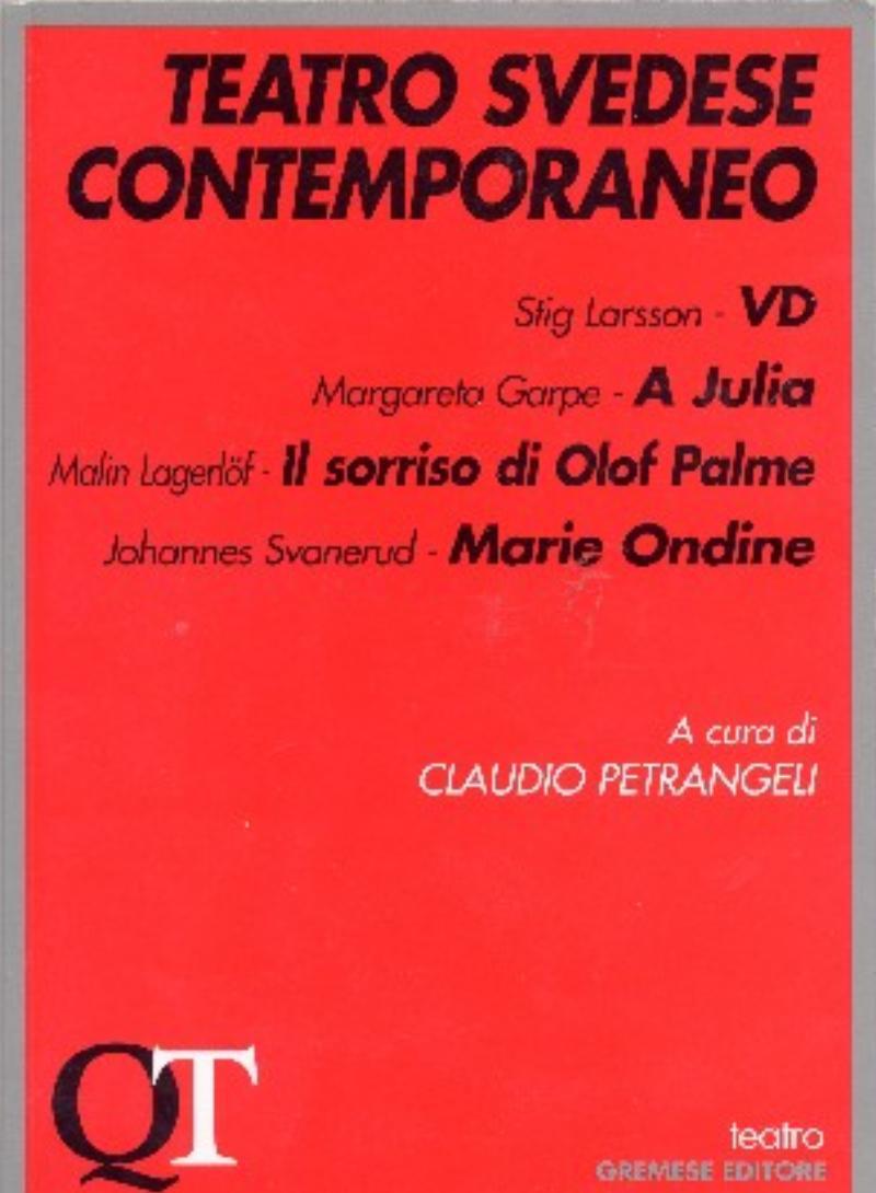 Teatro svedese contemporaneo