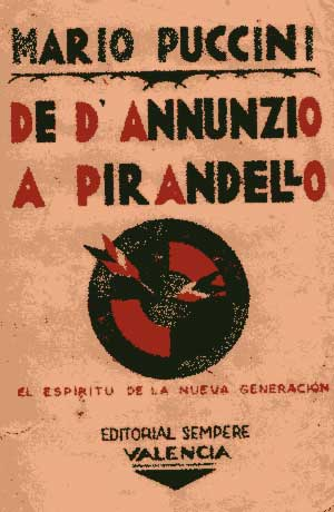 Da D'Annunzio a Pirandello